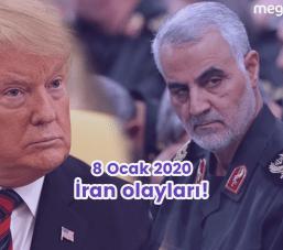 İran'da 8 Ocak 2020 Tarihinde Meydana Gelen Olaylar