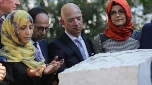 Jeff Bezos İstanbul'da