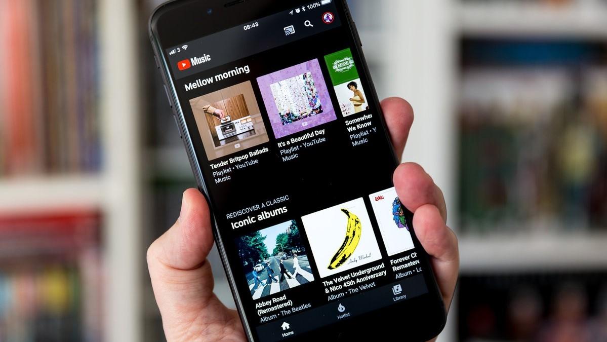 YouTube Music'in Tasarımı Değişiyor