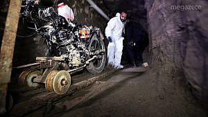 El Chapo'nun kaçmak için kullandığı tünel