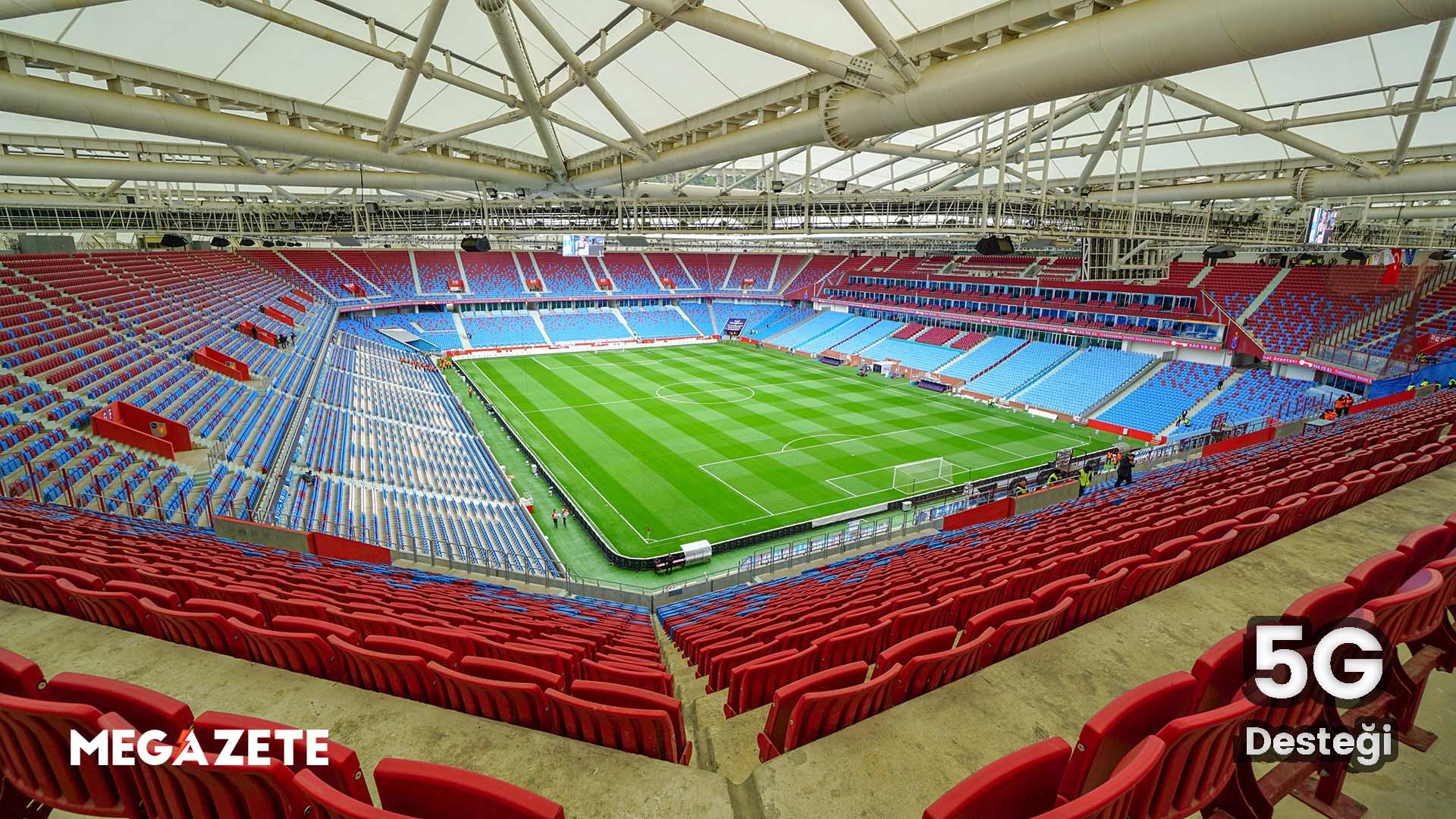 Trabzonspor'un Stadı 5G Altyapısını Destekliyor!