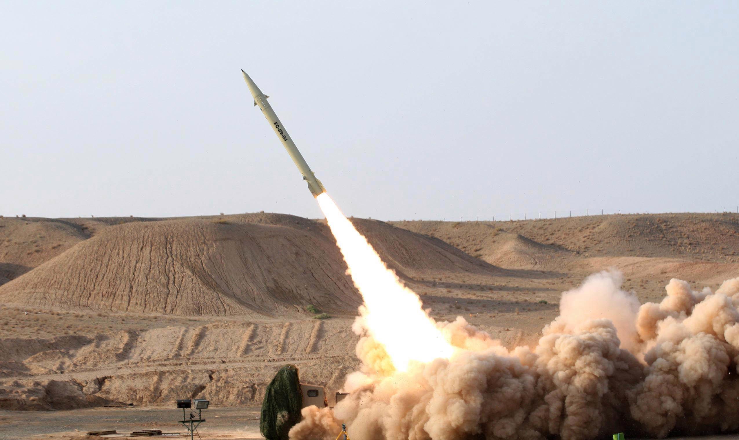 İran'dan ABD Üslerine Roket Saldırısı