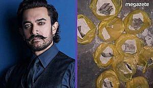 Aamir Khan içi para dolu un paketleri dağıttı!