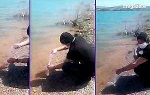 Beyşehir gölü türü bilinmeyen kırmızı balıklar