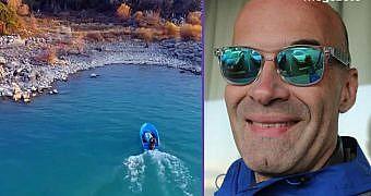 Chester Juall  Beyşehir Gölüne türü bilinmeyen kırmızı balıklar bıraktı!