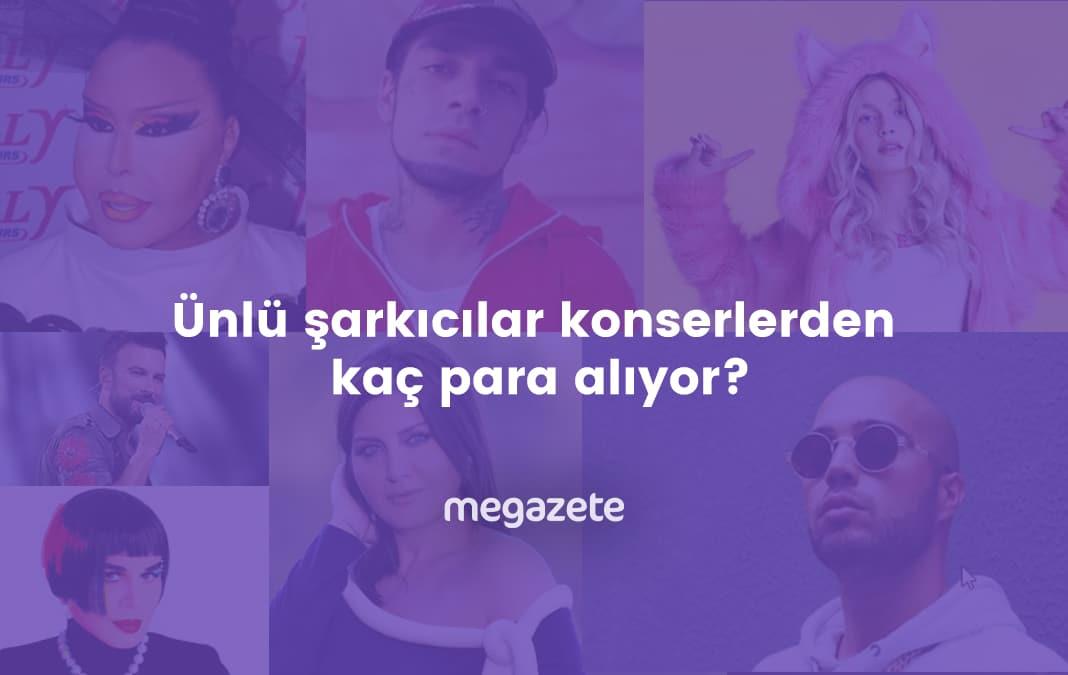 Photo of Ünlü şarkıcılar konserlerden kaç para alıyor? 2021 Tahmini liste!