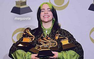2020 Grammy Ödülleri gecesinde toplam beş ödül aldı