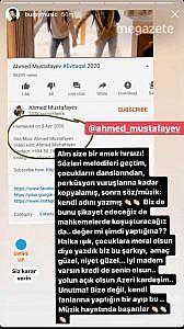 Buray, yazdığı şarkı'nın Azeri bir şarkıcı tarafından çalındığını açıkladı!