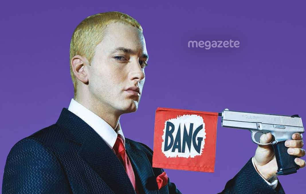 Eminemin evine hırsız girdi!