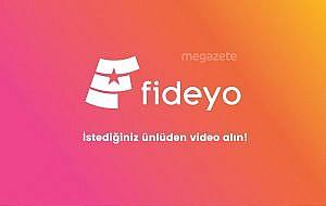 Fideyo ile istediğiniz ünlüye video çektirin!