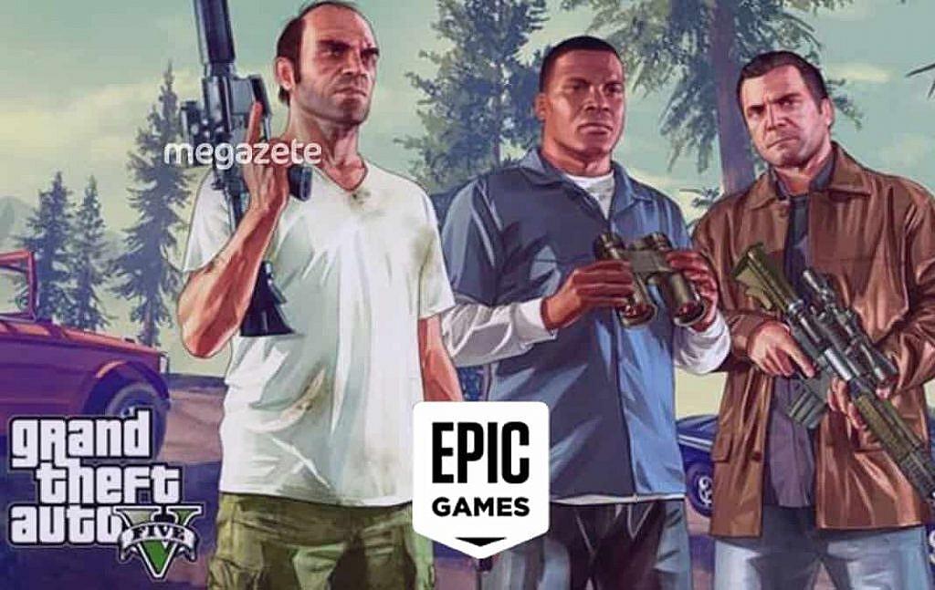 GTA 5 ücretsiz oldu... Epic Games'in sitesi çöktü!