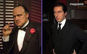 The Godfather karakterlerinin balmumu heykelleri müzede sergileniyor.-min