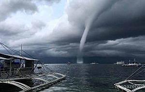 İstanbul'da hortum ve şiddetli fırtına!