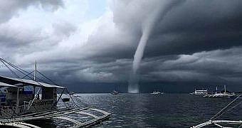 İstanbul'da hortum ve şiddetli fırtına