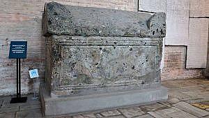 Ayasofya kraliçe sofya'nın mezarı