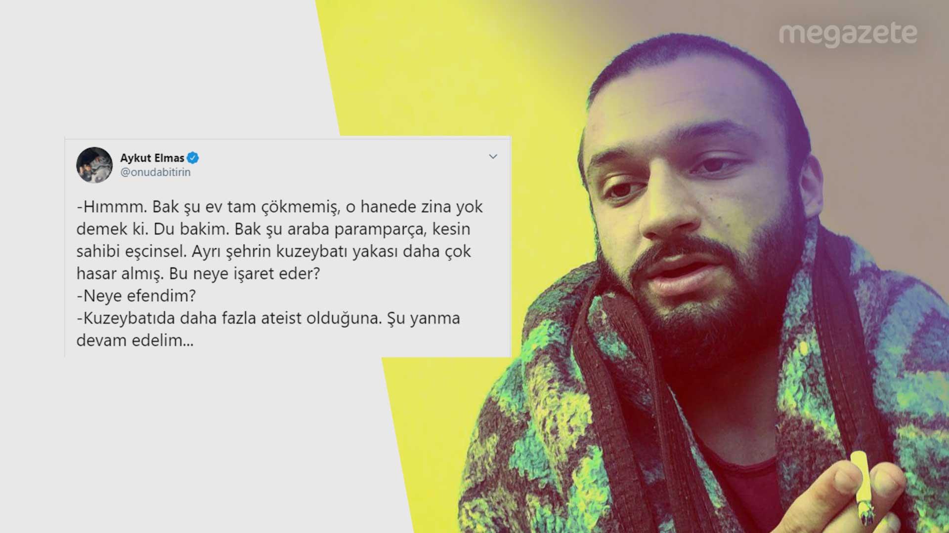 Aykut Elmas'ın Diyanet yorumu tepki çekti!