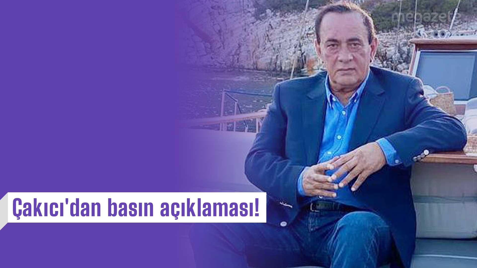 Çakıcı'dan Hapis Cezasına İlişkin Son Dakika Basın Açıklaması!
