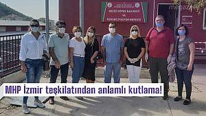 MHP İzmir teşkilatından anlamlı kutlama!