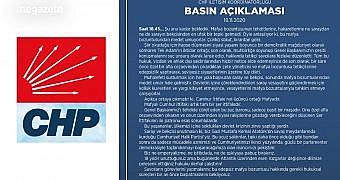 Cumhuriyer Halk Partisi Alaattin Çakıcı Hakkında Basın Açıklaması Yaptı