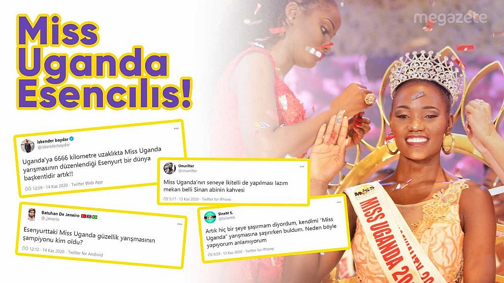 Miss Uganda Esencılıs'a sosyal medyadan gelen komik tepkileri derledik!