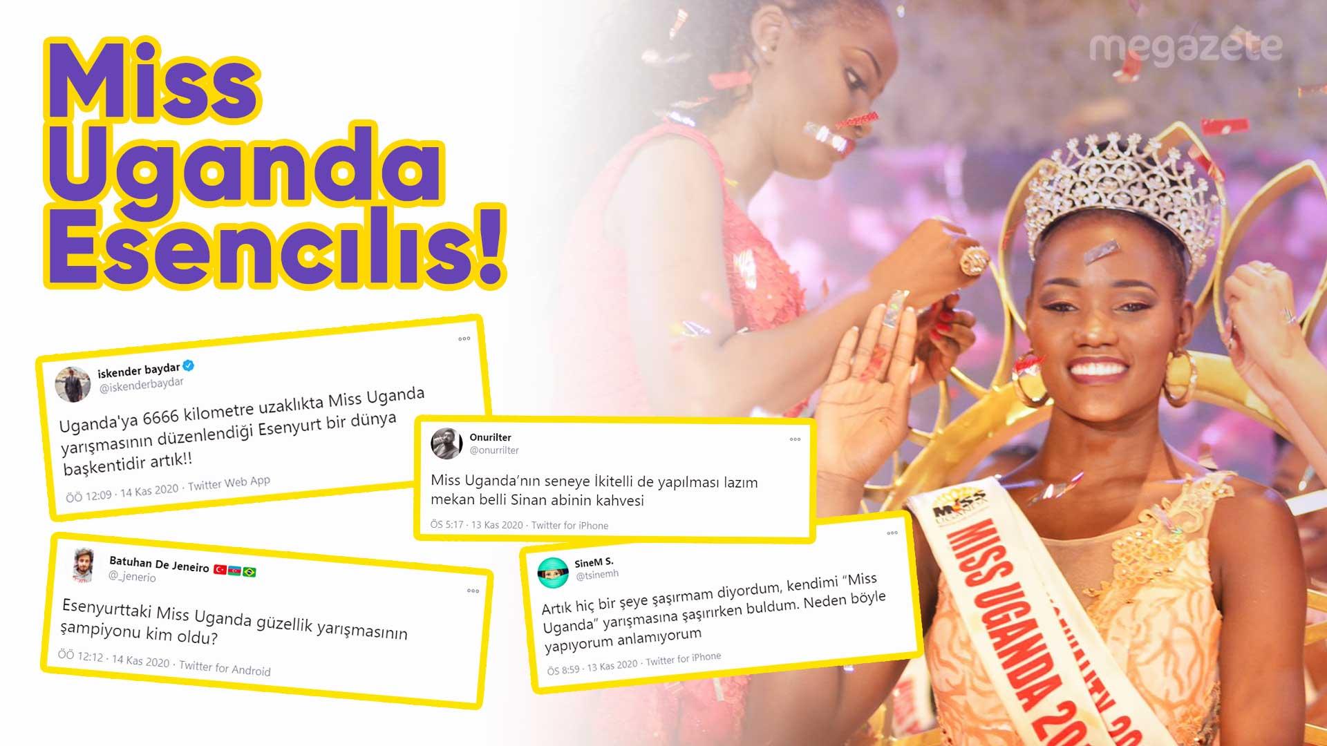 Miss Uganda Esencılıs'a sosyal medyadan gelen komik tepkileri derledik
