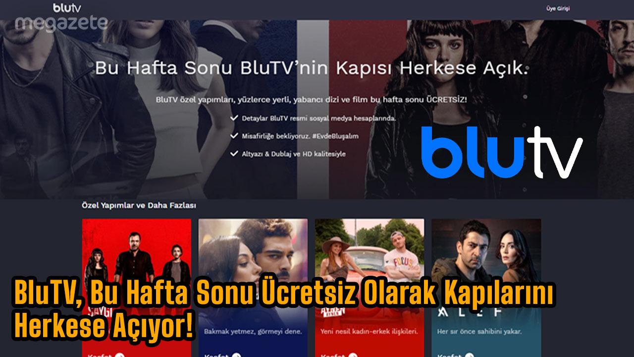 Photo of BluTV, Bu Hafta Sonu Ücretsiz Olarak Kapılarını Herkese Açıyor! 4 Aralık
