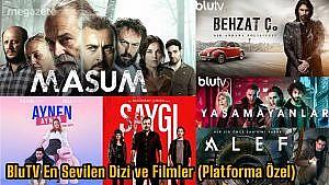 BluTV En Sevilen Dizi ve Filmler (Platforma Özel)
