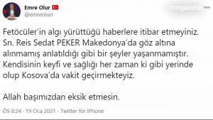 Sedat Peker sınır dışı edildi mi?