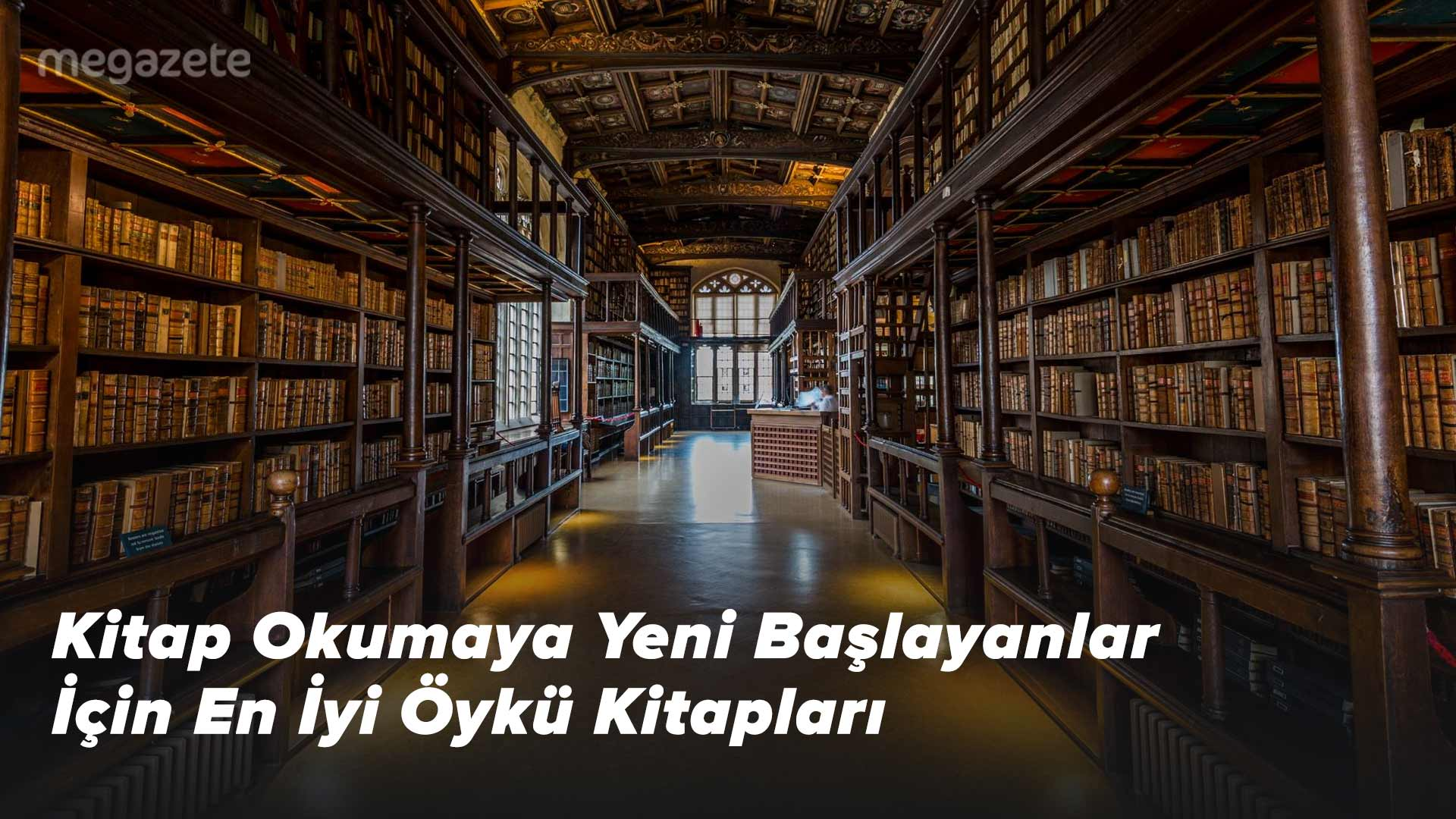 Kitap Okumaya Yeni Başlayanlar İçin En İyi Öykü Kitapları