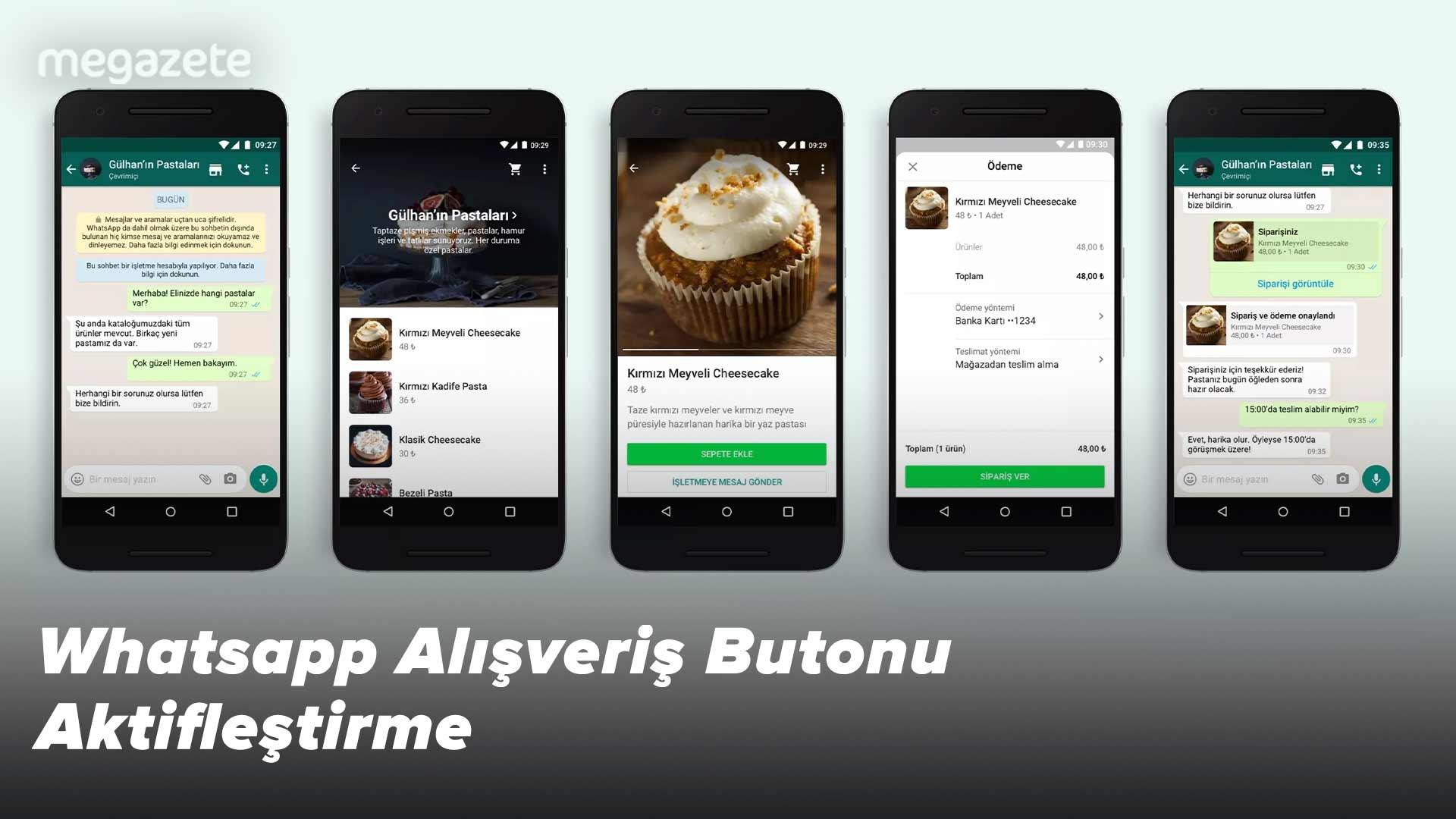 Whatsapp Alışveriş Butonu Aktifleştirme