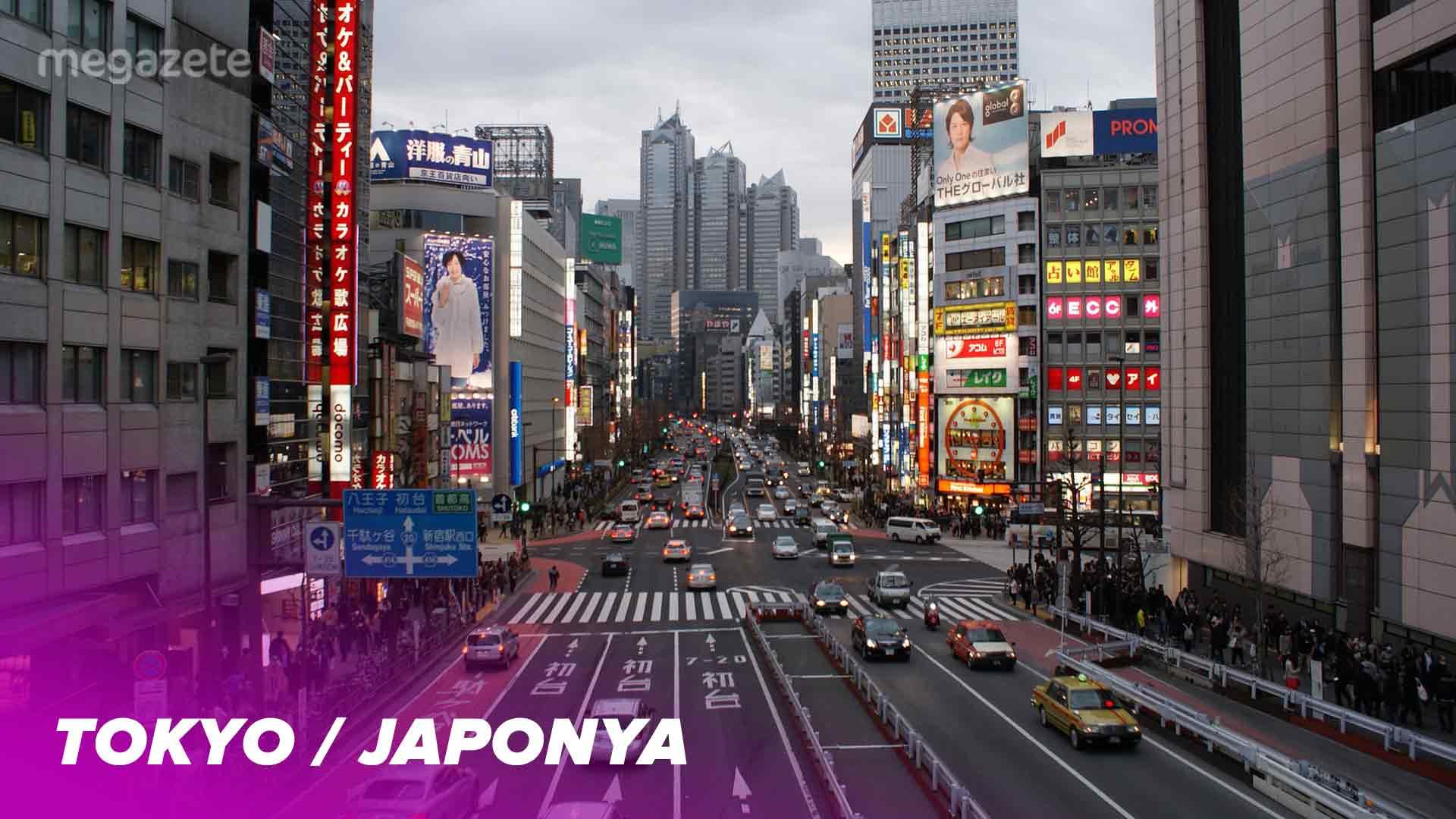 Dünyanın En Kalabalık 10 Şehri İçinde Birinci: Tokyo