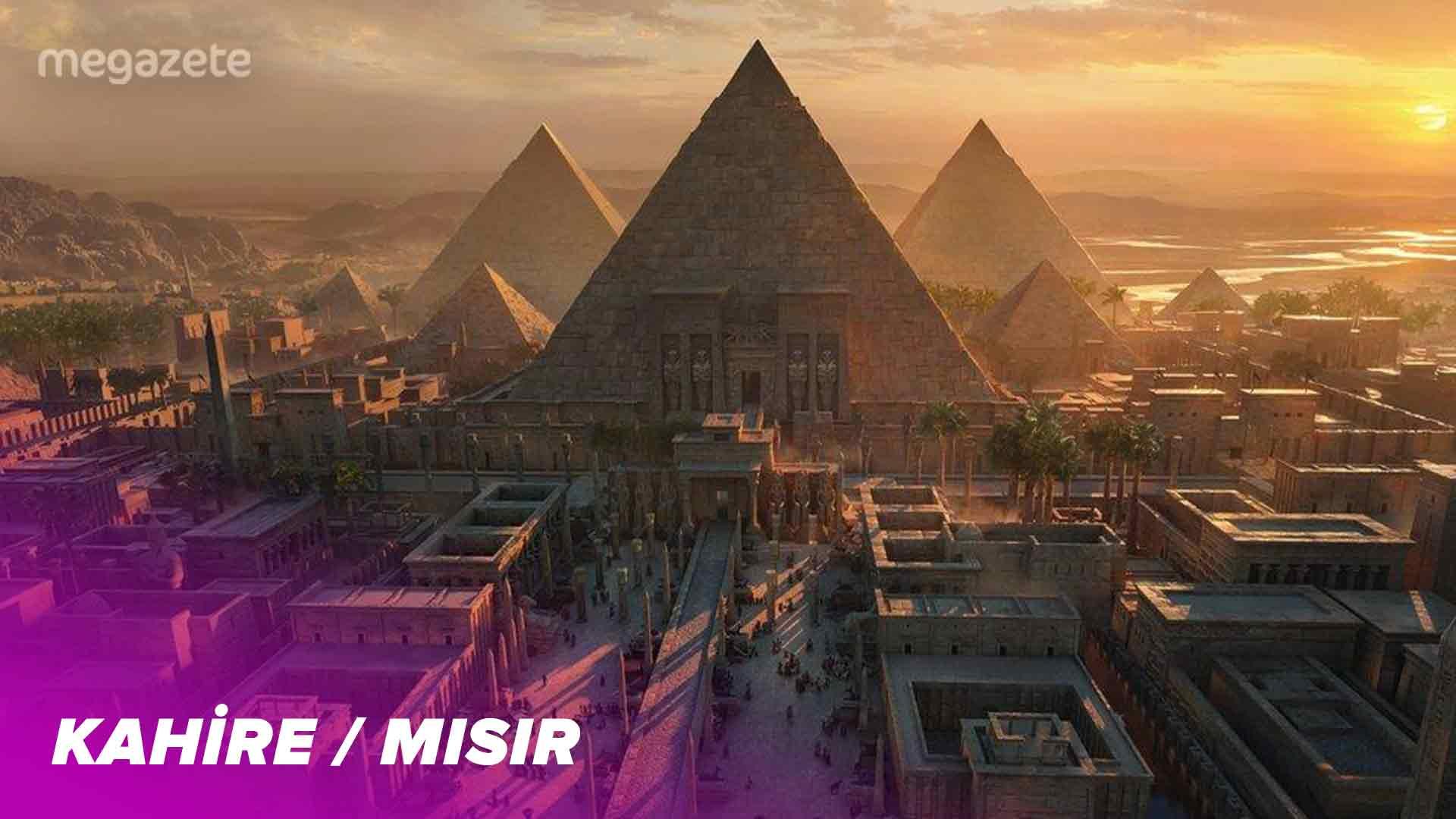 Dünyanın altıncı en kalabalık şehri Kahire
