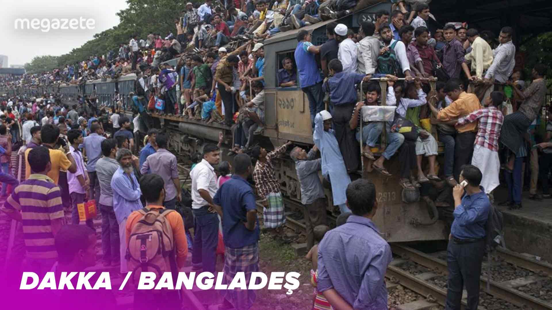 Dünyanın dokuzuncu en kalabalık şehri Dakka