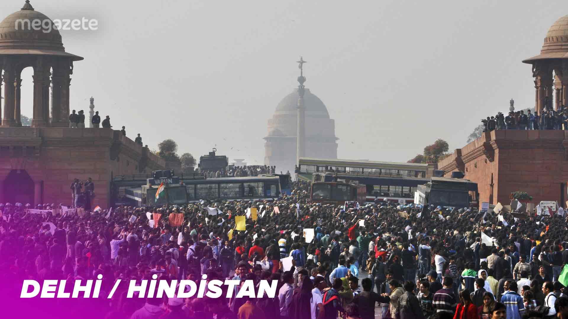 Dünyanın ikinci en kalabalık şehri Delhi