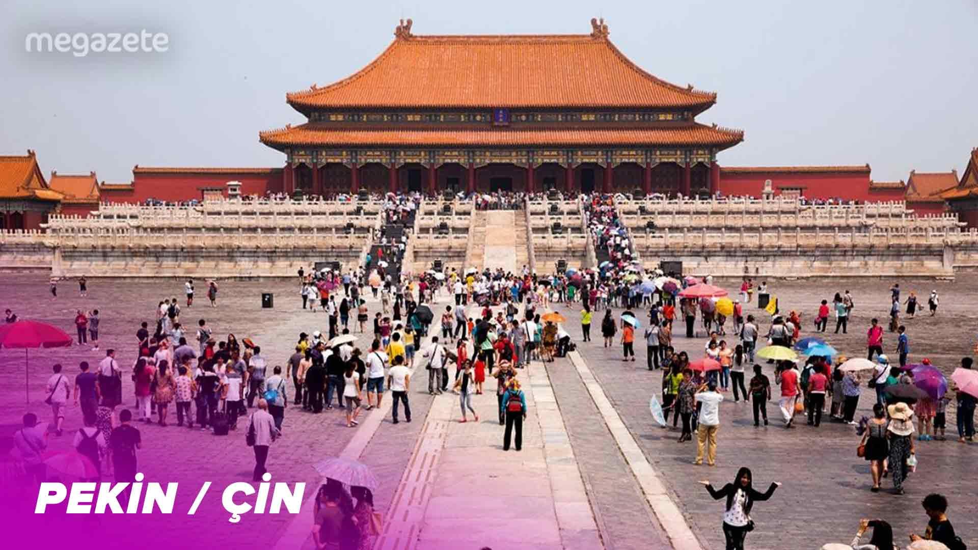 Dünyanın sekizinci en kalabalık şehri Pekin