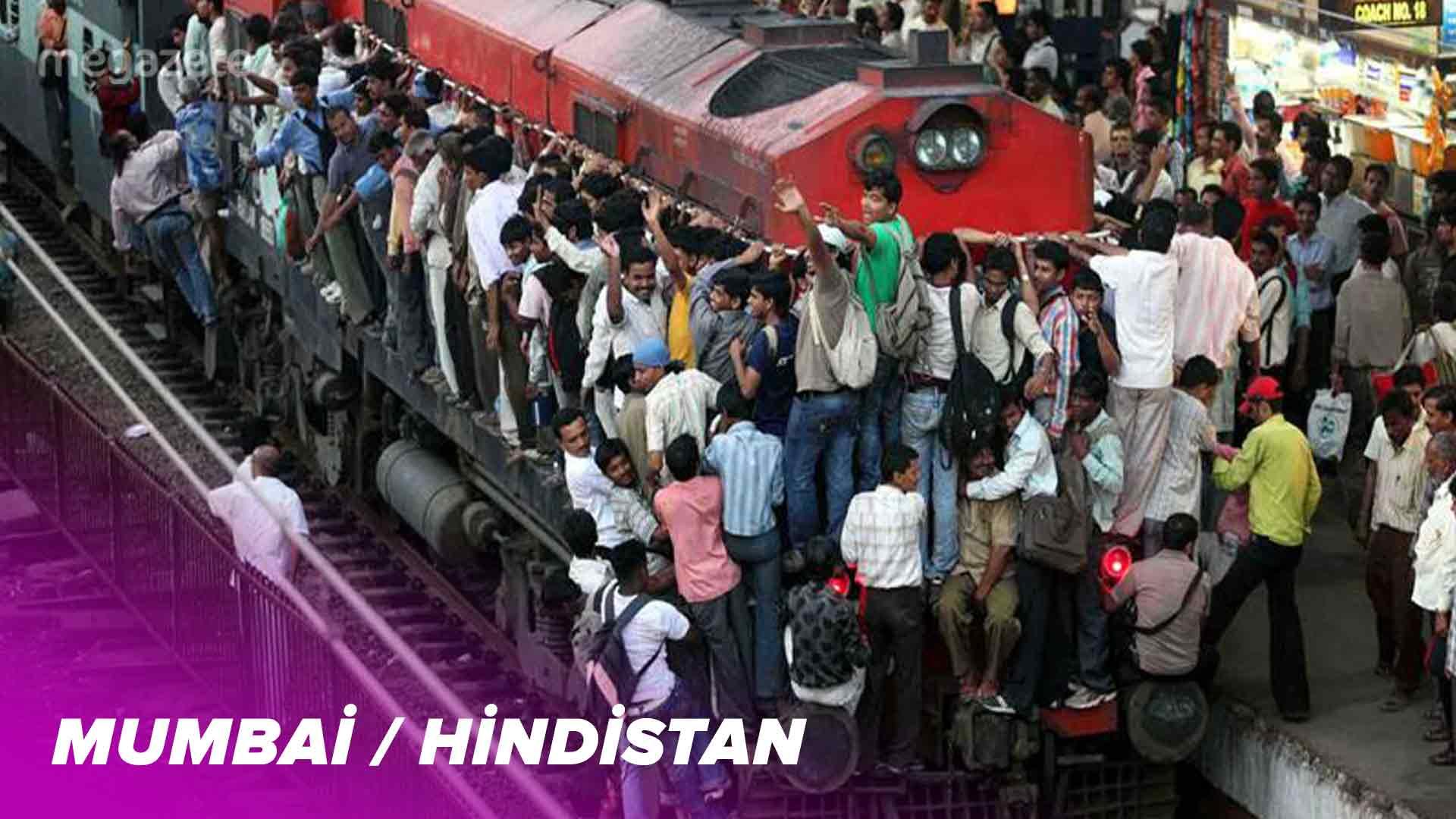 Dünyanın yedinci en kalabalık şehri Mumbai